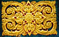 αρχαία τέχνη Ταϊλανδός Στοκ εικόνα με δικαίωμα ελεύθερης χρήσης