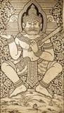 αρχαία τέχνη Ταϊλανδός Στοκ φωτογραφία με δικαίωμα ελεύθερης χρήσης