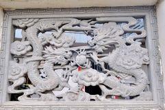 Αρχαία τέχνη τούβλου της Κίνας Στοκ Φωτογραφίες