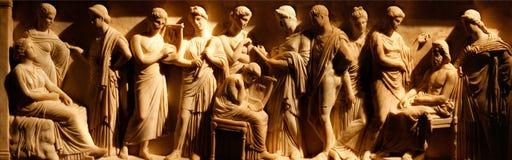 αρχαία τέχνη etruscan Στοκ Εικόνες