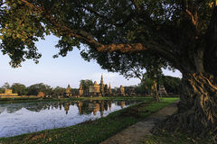 Αρχαία ταϊλανδική ιστορία Στοκ Φωτογραφία
