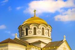 αρχαία χριστιανική εκκλησία Στοκ Εικόνα