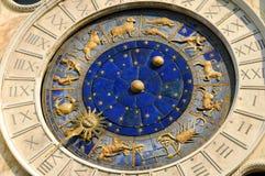 Αρχαία χρόνος, αστρολογία και ωροσκόπιο Στοκ φωτογραφία με δικαίωμα ελεύθερης χρήσης
