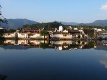 Αρχαία χωριά Hongcun Στοκ Φωτογραφίες