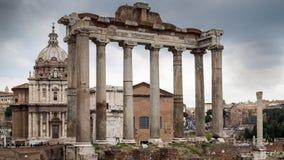 αρχαία όψη της Ρώμης Στοκ Φωτογραφία