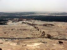 αρχαία όψη palmyra ακροπόλεων Στοκ φωτογραφίες με δικαίωμα ελεύθερης χρήσης