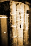 αρχαία bookds Στοκ φωτογραφία με δικαίωμα ελεύθερης χρήσης
