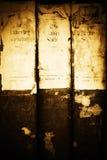 αρχαία bookds Στοκ φωτογραφίες με δικαίωμα ελεύθερης χρήσης