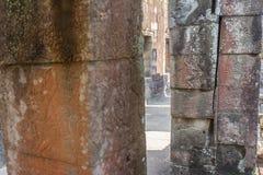 Αρχαία Khmer γλυπτική Krishna, Angkor στοκ φωτογραφία