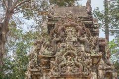 Αρχαία Khmer γλυπτική Krishna, Angkor στοκ φωτογραφίες με δικαίωμα ελεύθερης χρήσης
