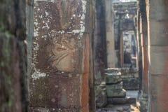 Αρχαία Khmer γλυπτική Krishna, Angkor στοκ φωτογραφία με δικαίωμα ελεύθερης χρήσης