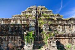 αρχαία khmer koh ker πυραμίδα Στοκ Εικόνες