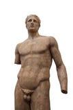 αρχαίες αθλητικές νεολαίες αγαλμάτων ατόμων των Δελφών Στοκ Εικόνα