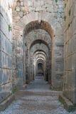 αρχαίες αψίδες Στοκ Φωτογραφία