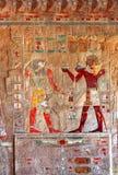 Αρχαίες εικόνες χρώματος της Αιγύπτου Στοκ Φωτογραφίες
