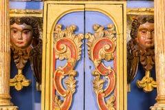 Αρχαίες θρησκευτικές λεπτομέρειες Στοκ φωτογραφία με δικαίωμα ελεύθερης χρήσης