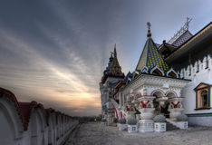 Αρχαίες διακοσμήσεις στη Μόσχα, Ρωσία Στοκ Φωτογραφίες