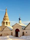Αρχαίες κατασκευές του Ryazan Κρεμλίνο Στοκ Εικόνα