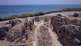 Αρχαίες καταστροφές θαλασσίως απόθεμα βίντεο