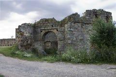 αρχαίες καταστροφές κάστ Στοκ φωτογραφία με δικαίωμα ελεύθερης χρήσης