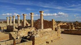 Αρχαίες καταστροφές κοντά στο πάθο στοκ εικόνες