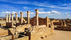 Αρχαίες καταστροφές κοντά στο πάθο στοκ φωτογραφία με δικαίωμα ελεύθερης χρήσης