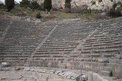αρχαίες καταστροφές μουσείων των Δελφών Ελλάδα Ελλάδα Στοκ φωτογραφίες με δικαίωμα ελεύθερης χρήσης