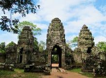Αρχαίες καταστροφές ναών Wat Angkor Στοκ φωτογραφία με δικαίωμα ελεύθερης χρήσης