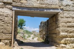 αρχαίες καταστροφές πόλεων στοκ φωτογραφία