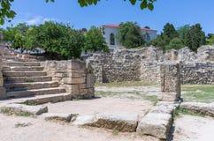 αρχαίες καταστροφές πόλεων στοκ εικόνα με δικαίωμα ελεύθερης χρήσης
