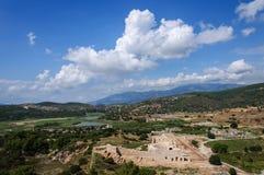 Αρχαίες καταστροφές σε Patara, Τουρκία Στοκ φωτογραφία με δικαίωμα ελεύθερης χρήσης