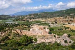 Αρχαίες καταστροφές σε Patara, Τουρκία Στοκ εικόνες με δικαίωμα ελεύθερης χρήσης