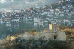 Αρχαίες καταστροφές στο Βελίκο Τύρνοβο, Βουλγαρία Στοκ Εικόνες