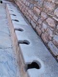 Αρχαίες καταστροφές της παλαιάς ελληνικής πόλης Ephesus Στοκ εικόνα με δικαίωμα ελεύθερης χρήσης
