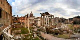 αρχαίες καταστροφές της Ρώμης Στοκ Εικόνα
