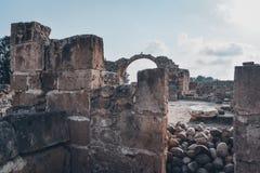 Αρχαίες καταστροφές της Kato Pafos, Κύπρος στοκ φωτογραφία με δικαίωμα ελεύθερης χρήσης