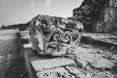Αρχαίες καταστροφές της Kato Pafos, Κύπρος στοκ εικόνα με δικαίωμα ελεύθερης χρήσης