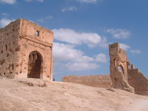 αρχαίες καταστροφές του Μαρόκου Στοκ Εικόνες