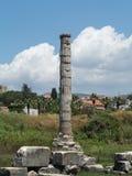 Αρχαίες καταστροφές του ναού της Artemis Στοκ εικόνα με δικαίωμα ελεύθερης χρήσης