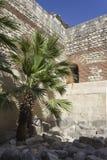 Αρχαίες καταστροφές του παλατιού Diocletian στη διάσπαση Στοκ φωτογραφία με δικαίωμα ελεύθερης χρήσης