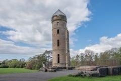 Αρχαίες καταστροφές του irvine Σκωτία Eglinton Castle στοκ εικόνα
