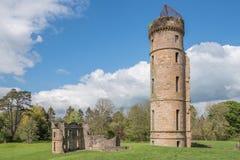 Αρχαίες καταστροφές του irvine Σκωτία Eglinton Castle στοκ φωτογραφίες με δικαίωμα ελεύθερης χρήσης