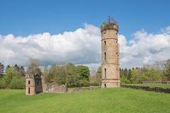 Αρχαίες καταστροφές του irvine Σκωτία Eglinton Castle στοκ εικόνες