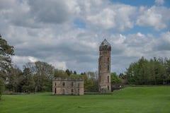 Αρχαίες καταστροφές του irvine Σκωτία Eglinton Castle στοκ εικόνα με δικαίωμα ελεύθερης χρήσης