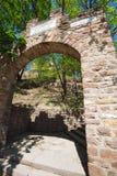 Αρχαίες καταστροφές φρουρίων Terebovlia (Ουκρανία). Στοκ φωτογραφίες με δικαίωμα ελεύθερης χρήσης