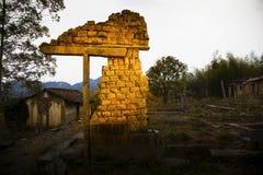 αρχαίες καταστροφές Στοκ Φωτογραφία