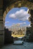 αρχαίες καταστροφές Στοκ Εικόνες