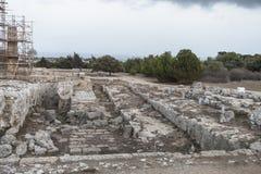 αρχαίες καταστροφές Στοκ Εικόνα