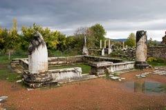 Αρχαίες καταστροφές Aphrodisias, αιγαία Τουρκία Στοκ φωτογραφίες με δικαίωμα ελεύθερης χρήσης