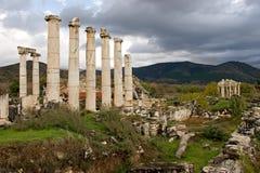 Αρχαίες καταστροφές Aphrodisias, αιγαία Τουρκία Στοκ Φωτογραφία